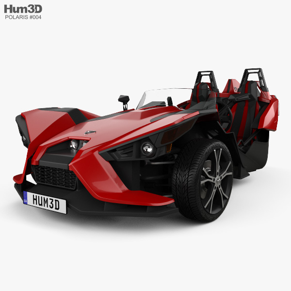 Polaris Slingshot 2015 3D model