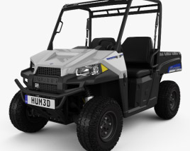 3D model of Polaris Ranger EV 2015