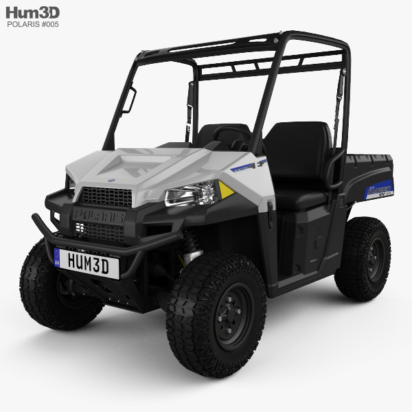 Polaris Ranger EV 2015 3D model