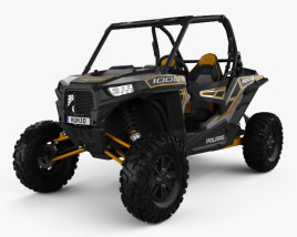 3D model of Polaris Ranger RZR 1000 2015