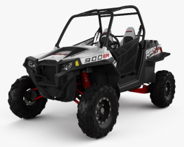 3D model of Polaris RZR XP 900 2011
