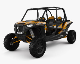 3D model of Polaris RZR XP 4 TURBO EPS 2016