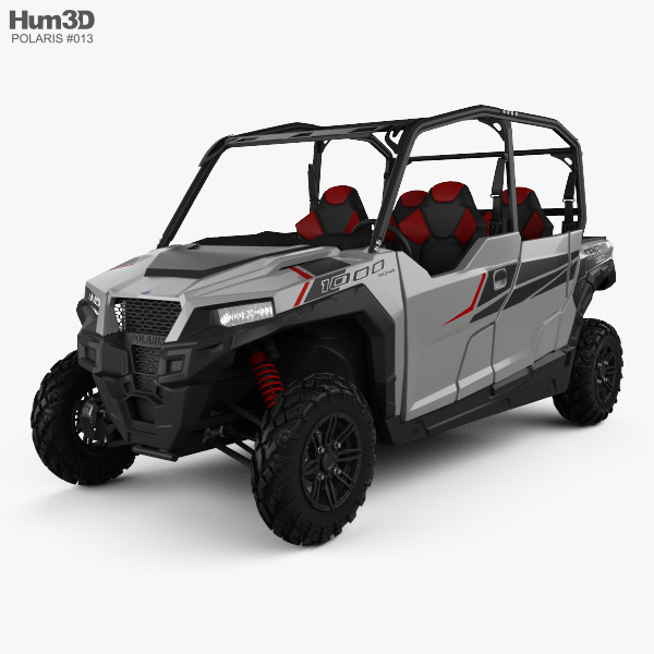 Polaris General 4 1000 EPS 3D model