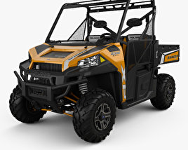 3D model of Polaris Ranger XP 900 2013