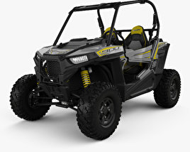 3D model of Polaris RZR S 900 2017