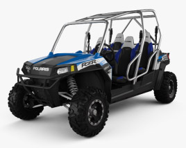 3D model of Polaris RZR 4 800 2010