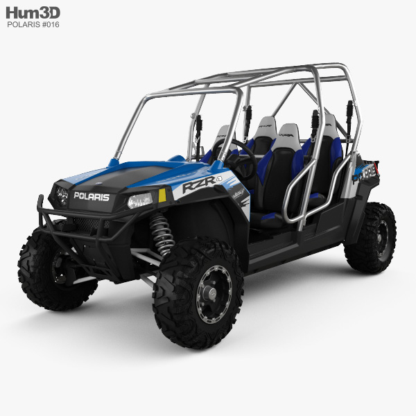 Polaris RZR 4 800 2010 3D model