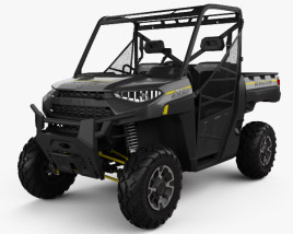 3D model of Polaris Ranger XP 1000 2019