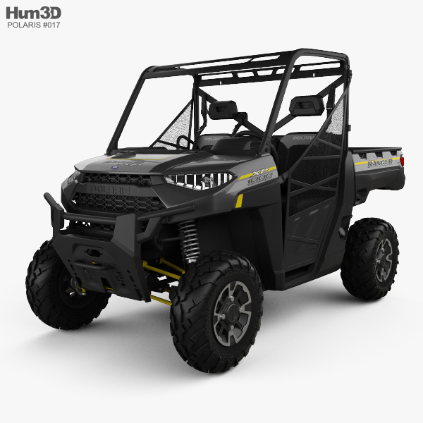 Polaris Ranger XP 1000 2019 3D model