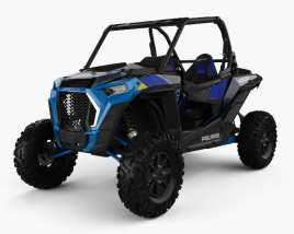 3D model of Polaris Ranger RZR 1000 Turbo S 2019