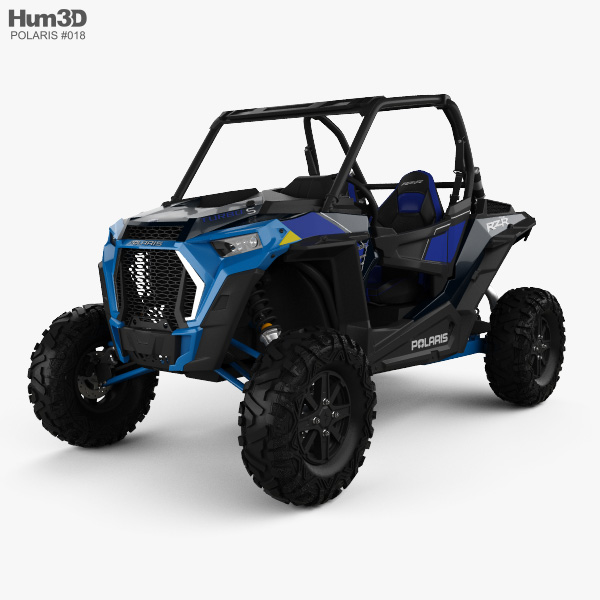 Polaris RZR 1000 Turbo S 2019 3D model