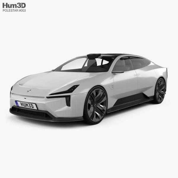 Polestar Precept 2020 3D model