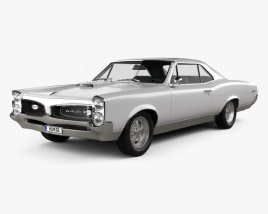 3D model of Pontiac GTO 1967