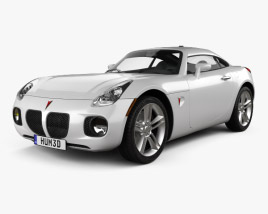 3D model of Pontiac Solstice Coupe 2009