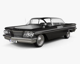 3D model of Pontiac Ventura coupe 1960
