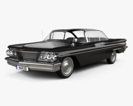 Pontiac Ventura coupe 1960 Modèle 3D