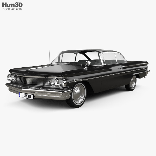 Pontiac Ventura coupe 1960 3D model