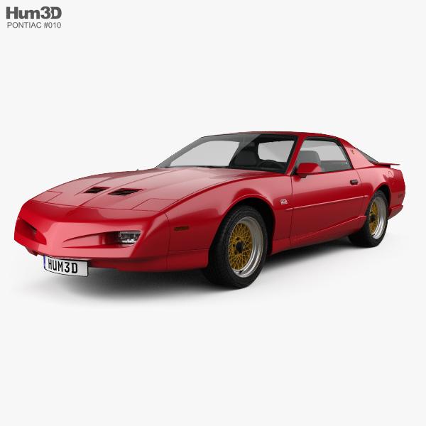 Pontiac Firebird Trans Am GTA 1991 3D model