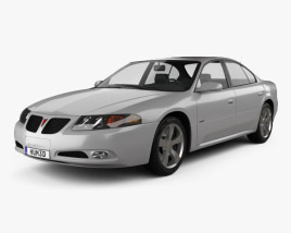3D model of Pontiac Bonneville GXP 2004