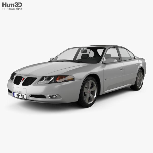 Pontiac Bonneville GXP 2004 3D model