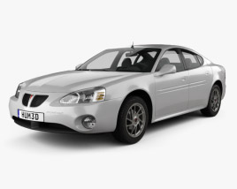 3D model of Pontiac Grand Prix GTP 2004
