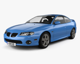 3D model of Pontiac GTO 2003