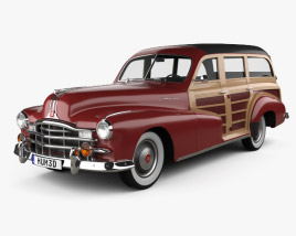 3D model of Pontiac Streamliner Eight Station Wagon 1947
