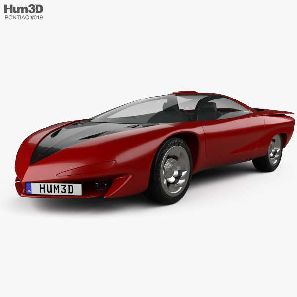 Pontiac Banshee 1988 3D model