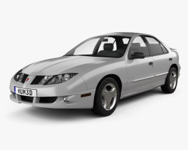 3D model of Pontiac Sunfire 2003