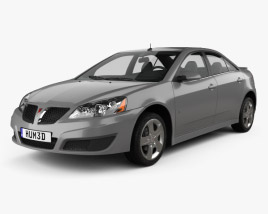 3D model of Pontiac G6 2004