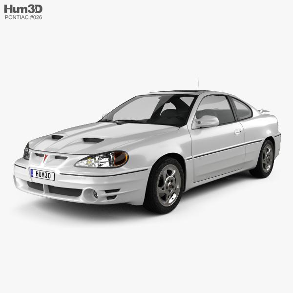 Pontiac Grand Am coupe 1999 3D model