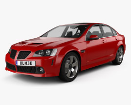 3D model of Pontiac G8 GT 2007