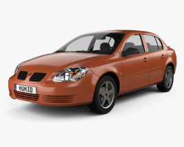 3D model of Pontiac G5 2006