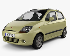 3D model of Pontiac Matiz G2 2006