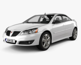 3D model of Pontiac G6 GT 2006