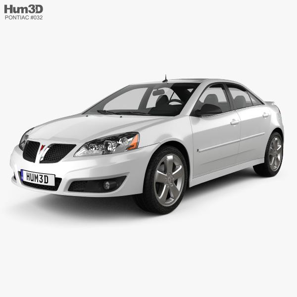 Pontiac G6 GT 2006 3D model