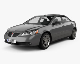 3D model of Pontiac G6 V6 2006