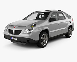 3D model of Pontiac Aztek with HQ interior 2005