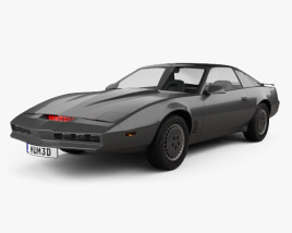 3D model of Pontiac Firebird KITT 1982