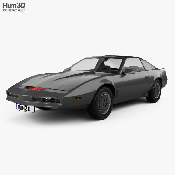 Pontiac Firebird KITT 1982 3D model