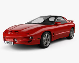 3D model of Pontiac Firebird Trans Am 1998
