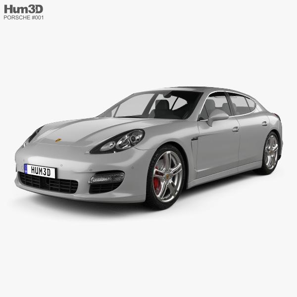 Porsche Panamera 2010 3D-Modell