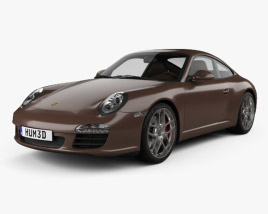 Porsche 911 Carrera S Coupe 2011 3D model
