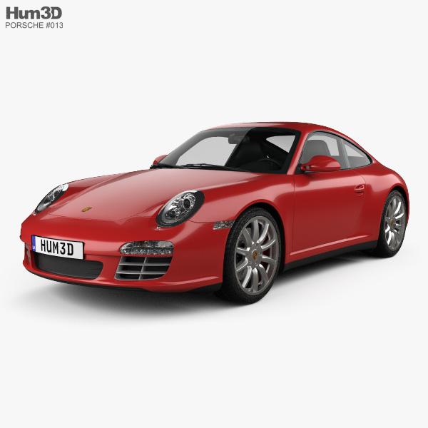 Porsche 911 Carrera 4S Coupe 2011 3D model