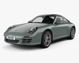 Porsche 911 Targa 4 2011 3D model
