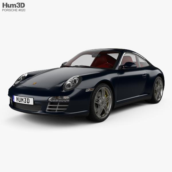 Porsche 911 Targa 4S 2011 3D model