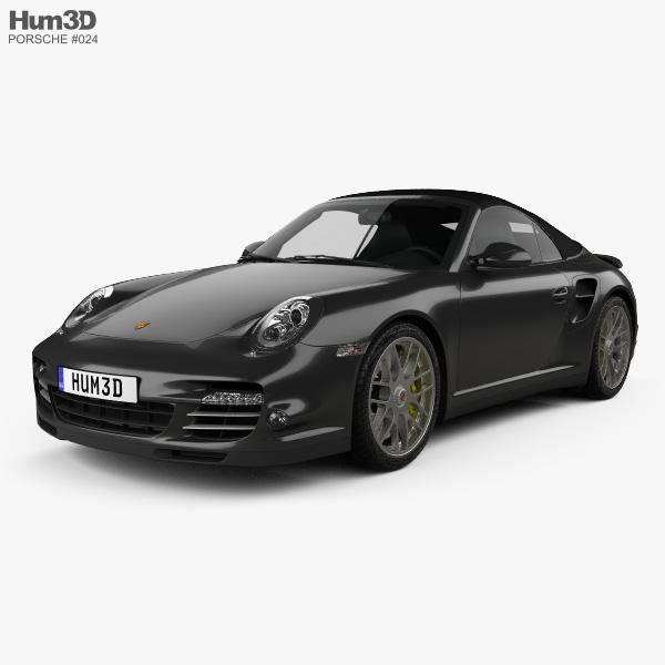 Porsche 911 Turbo S Cabriolet 2011 3D model