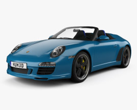 3D model of Porsche 911 Speedster 2011