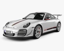 3D model of Porsche 911 GT3RS 2011