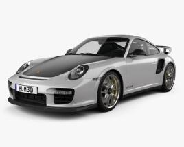 3D model of Porsche 911 GT2RS 2011